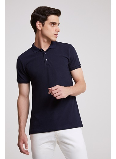 D'S Damat Regular Fit T-Shirt Lacivert